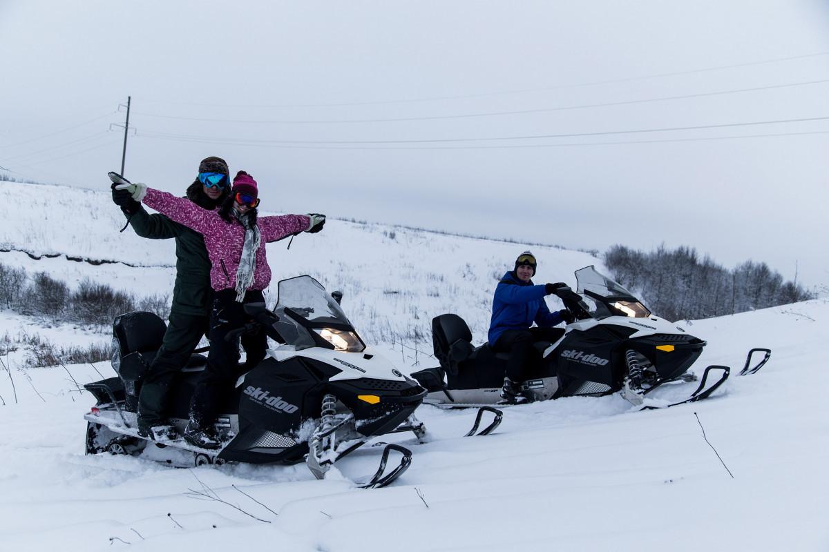 Катание на снегоходах в Екатеринбурге