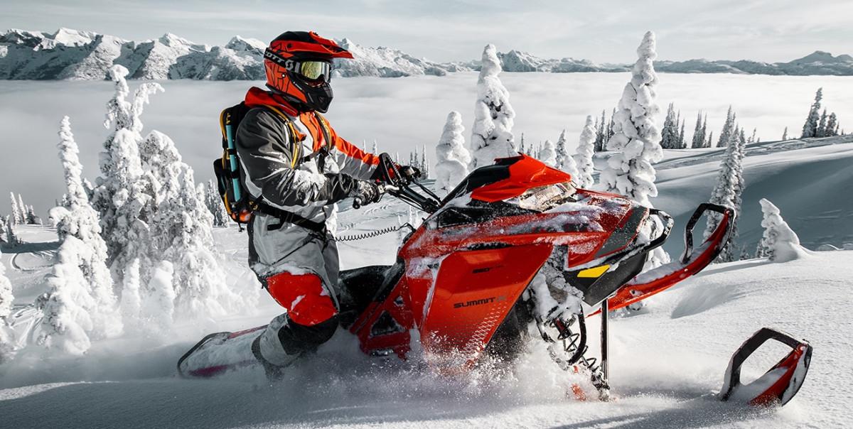 Снегоходы в Красной Поляне