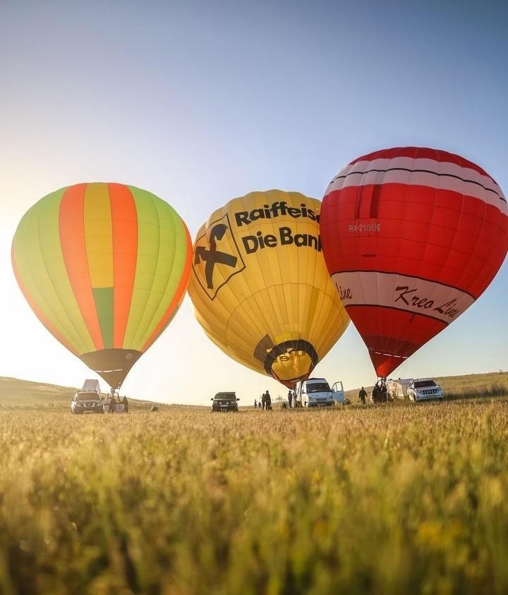 Полёты на воздушном шаре в Крыму