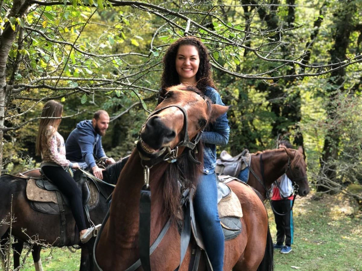 Конные прогулки в Адлере