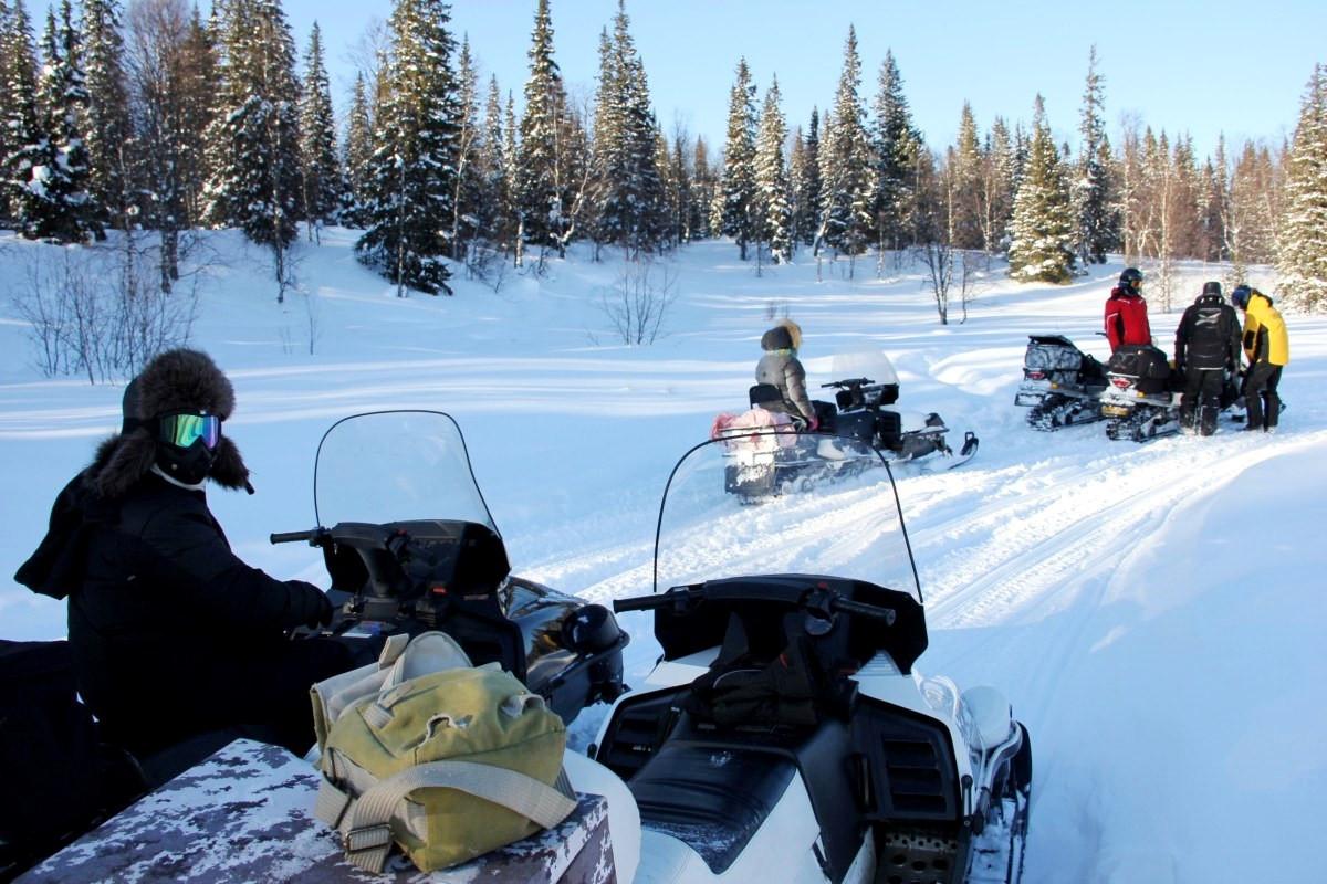 Экспедиции на снегоходах