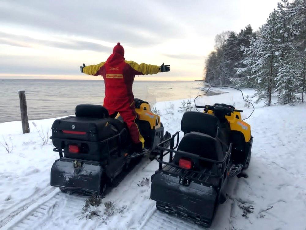 Снегоходные туры в Карелии