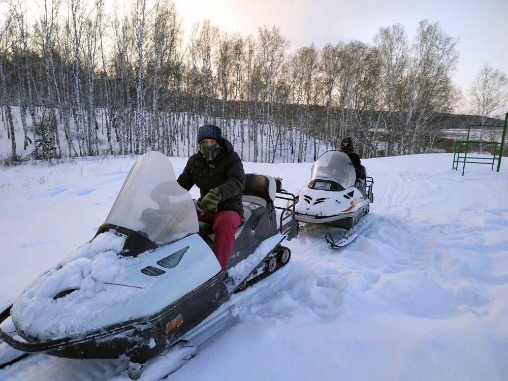 Катание на снегоходах в Челябинске