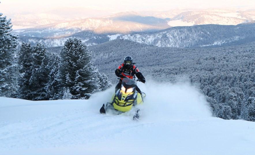 Снегоходные туры по Алтаю