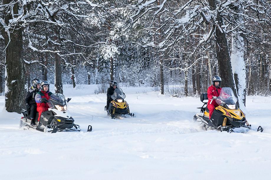 Аренда снегоходов в СПб