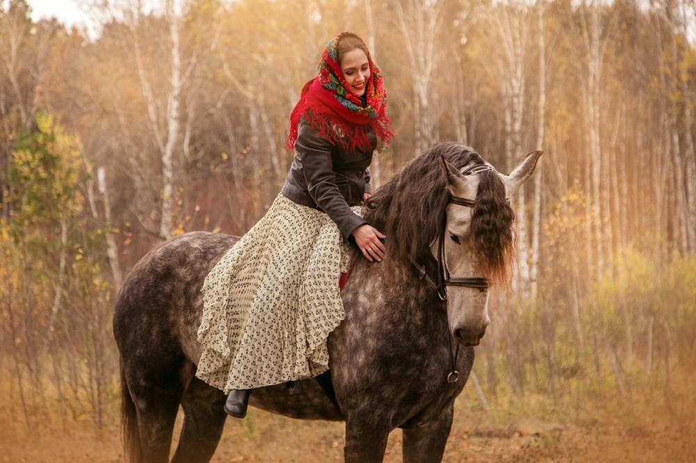Катание на лошадях в Тюмени