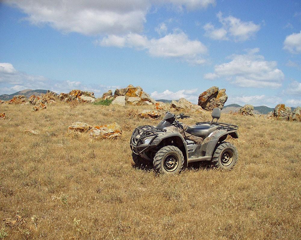 Квадроциклы в Судаке