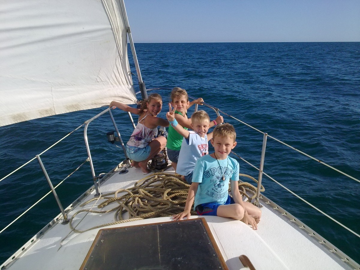 Морские прогулки в Евпатории