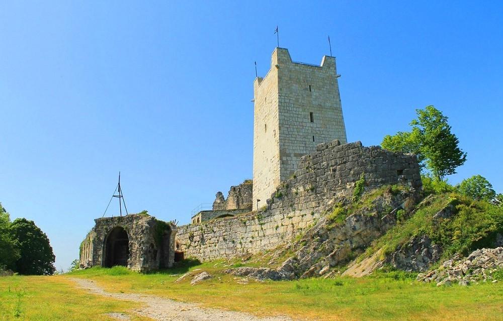 Фото: Анакопийская крепость