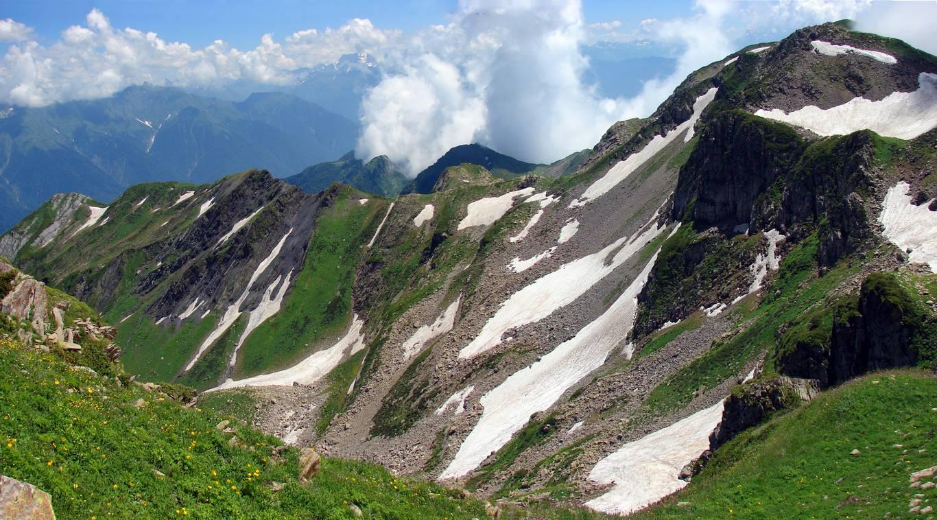 Фото: Гора (Хребет) Ачишхо