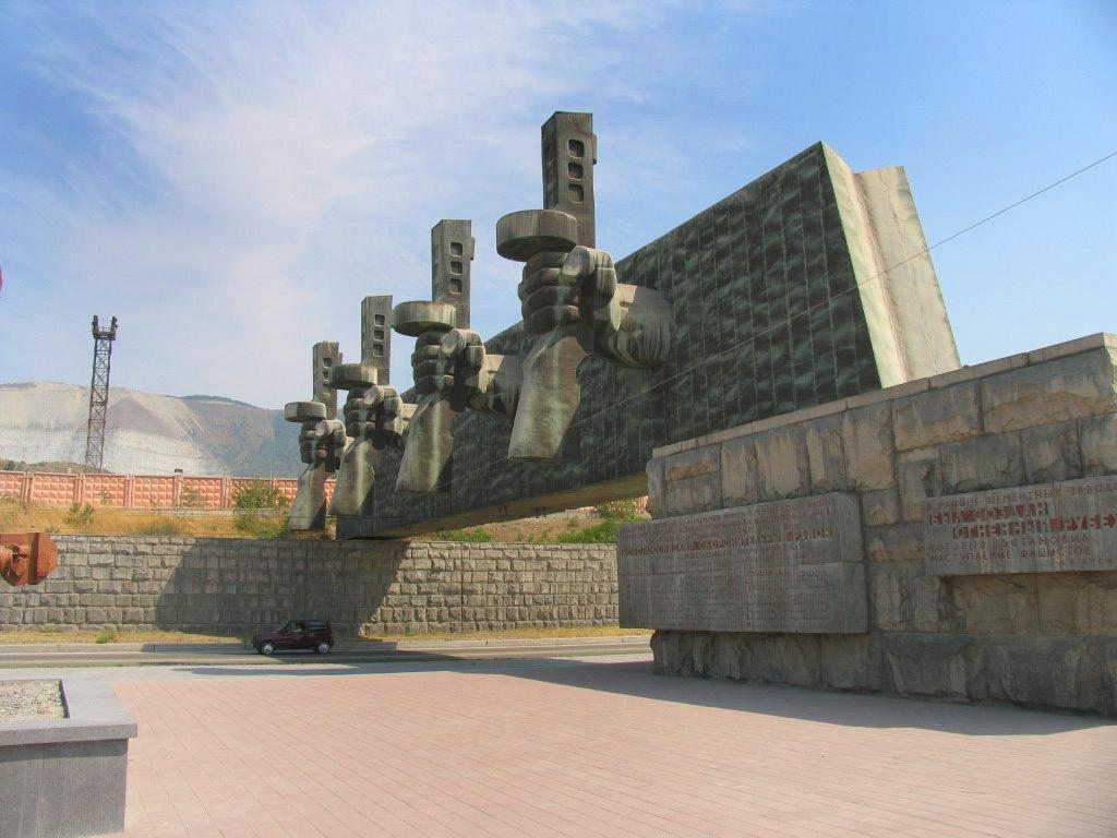 Фото: Мемориальный комплекс «Рубеж обороны»