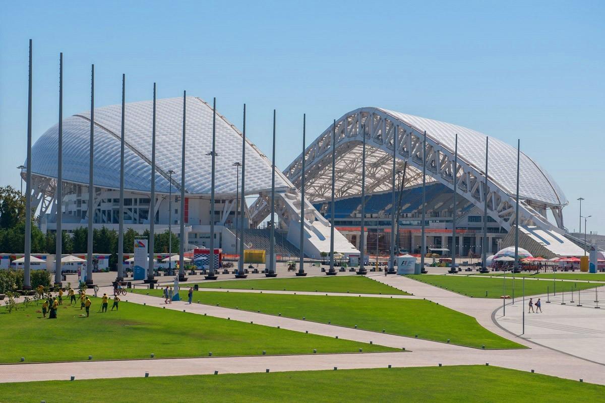 Фото: Олимпийский стадион «Фишт»
