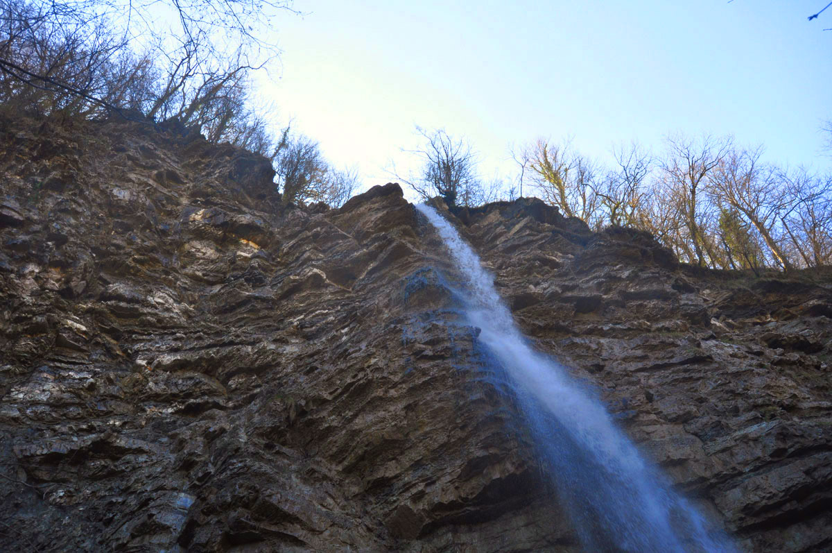 Фото: 33-метровый водопад