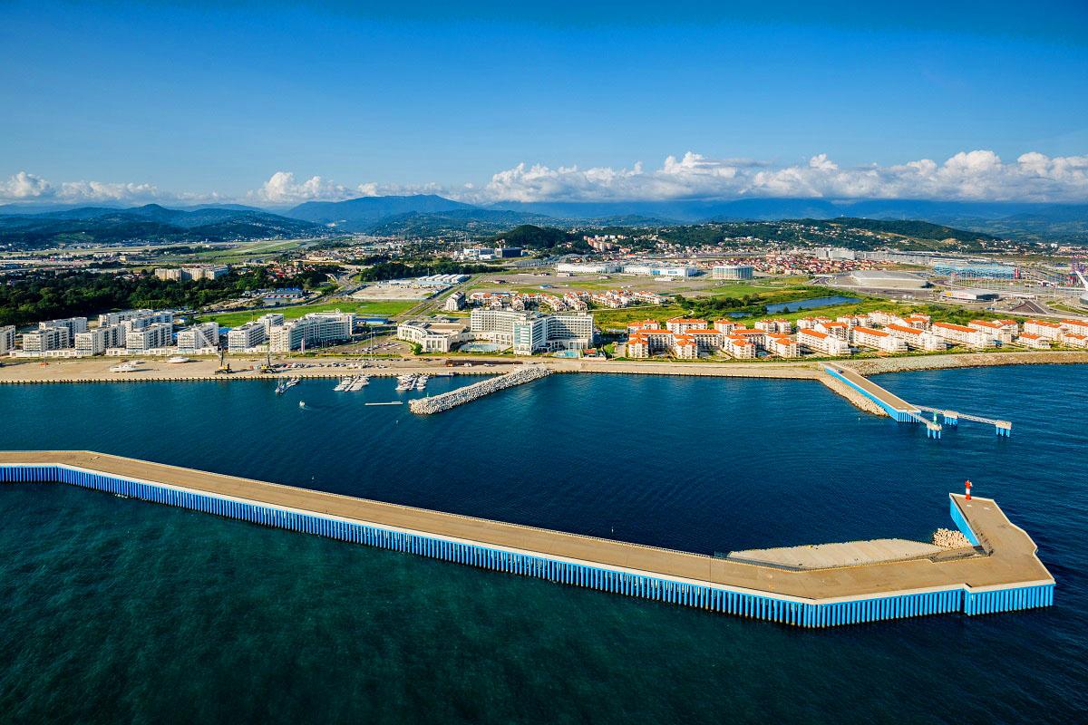 Фото: Порт Сочи Имеретинский
