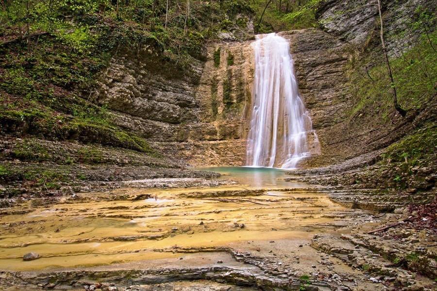 Фото: Полковничьи водопады