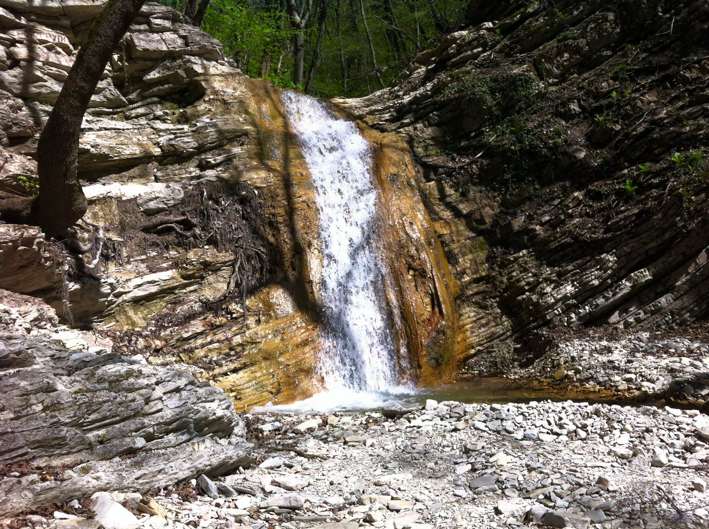 Фото: Тенгинские водопады