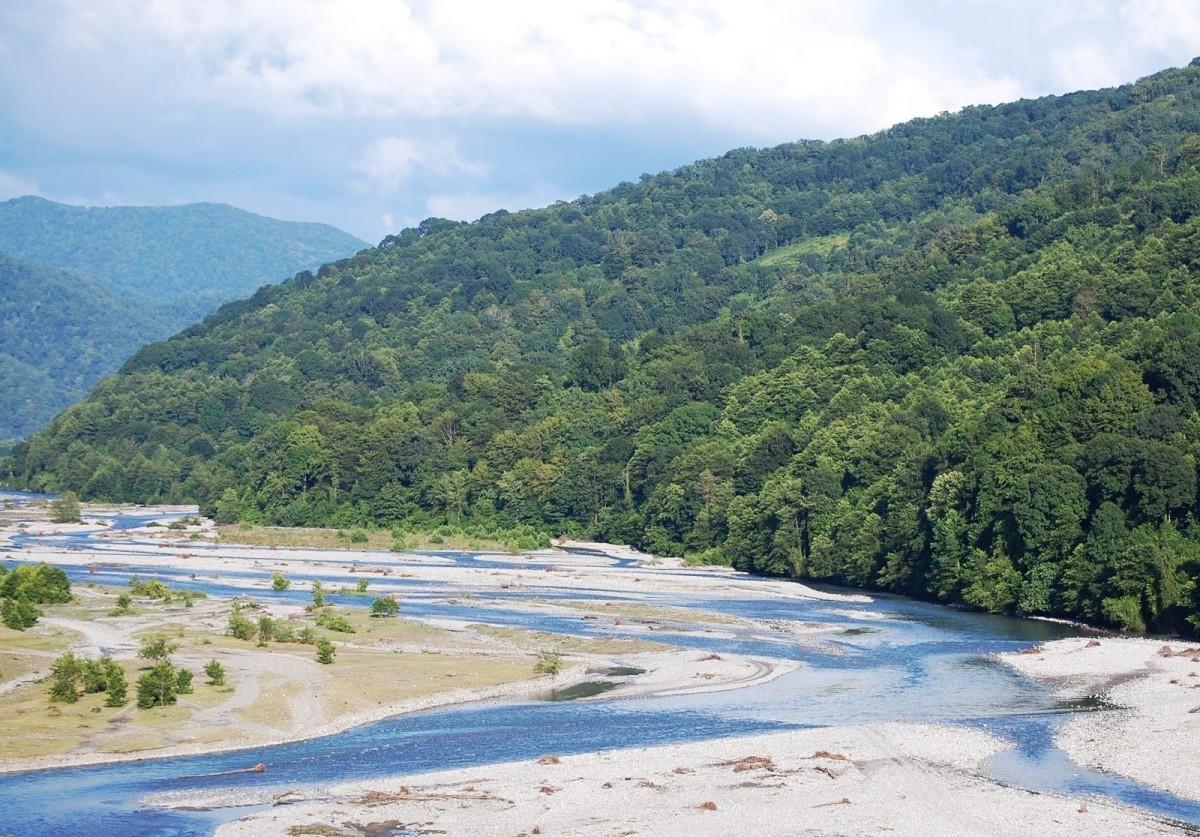 Фото: Река Шахе