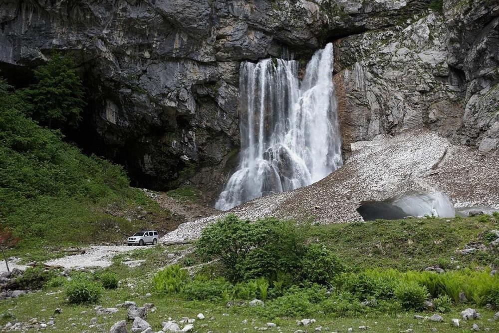 Фото: Гегский водопад