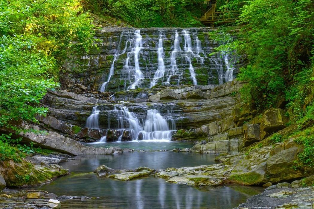 Фото: Змейковские водопады