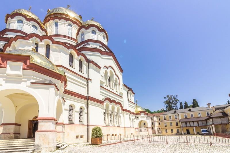 Фото: Новоафонский монастырь
