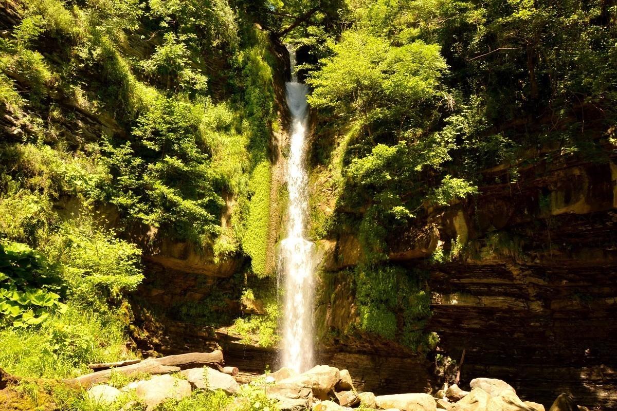 Фото: Водопад Игристый