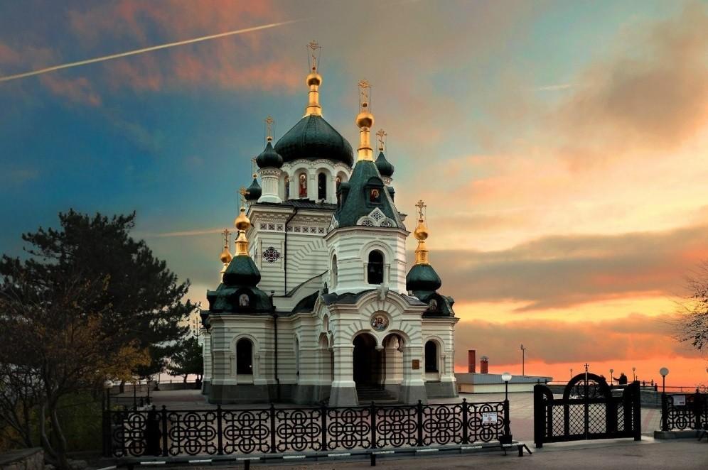 Фото: Форосская церковь Вознесения Христова