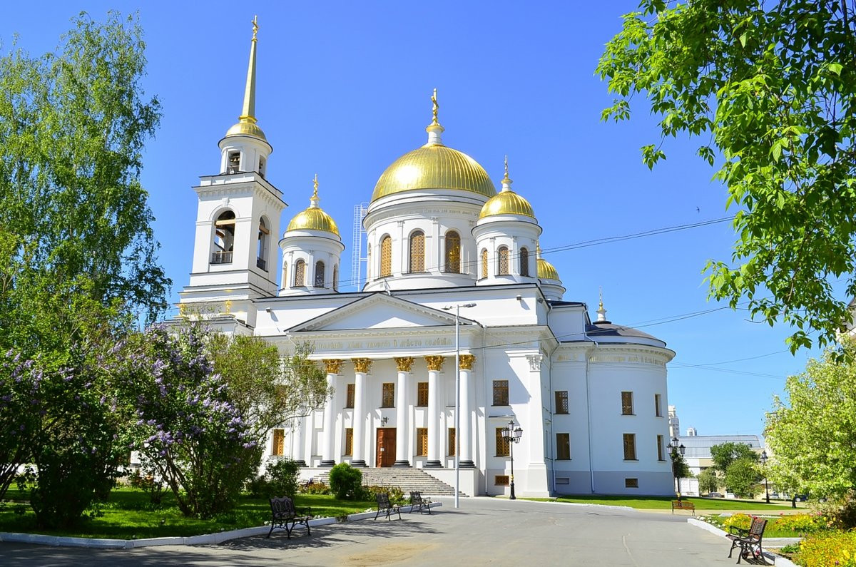 Фото: Ново-Тихвинский монастырь