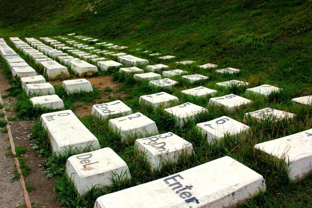 Фото: Памятник клавиатуре