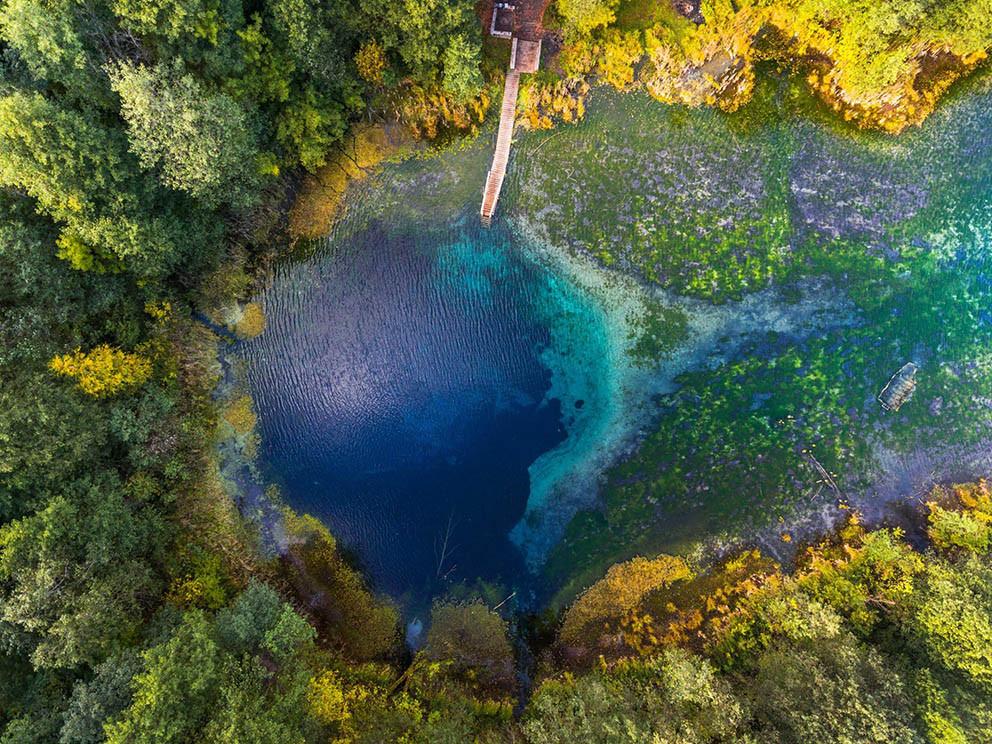 Фото: Голубые озёра