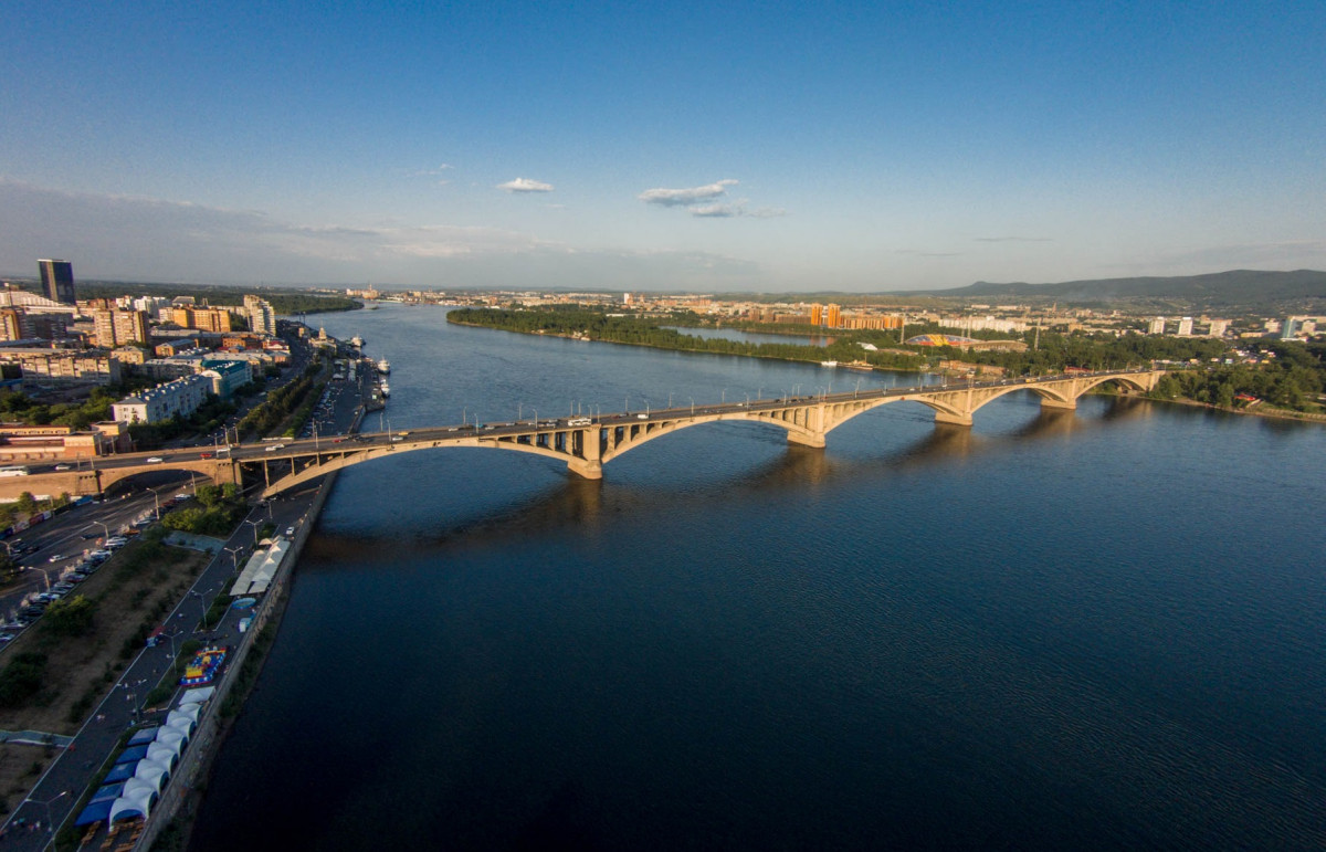 Фото: Река Енисей