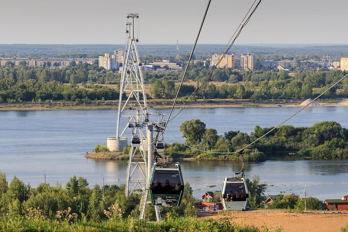 Фото: Нижегородская канатная дорога