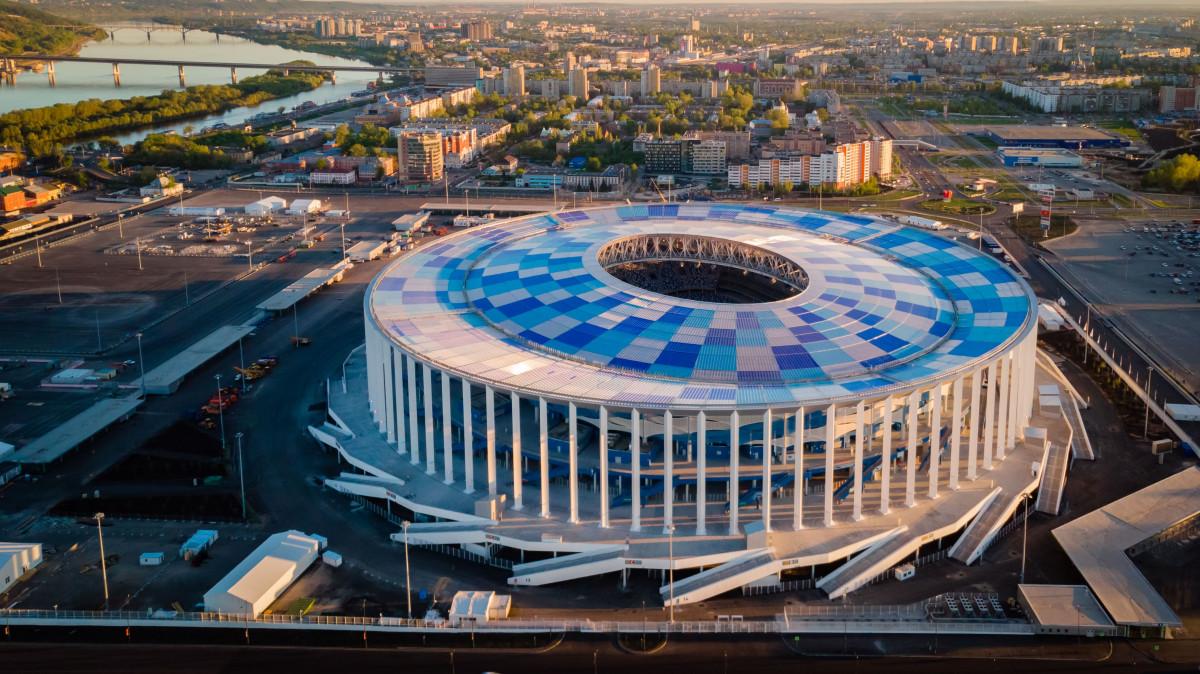 стадион нижний новгород фото это была какая-то