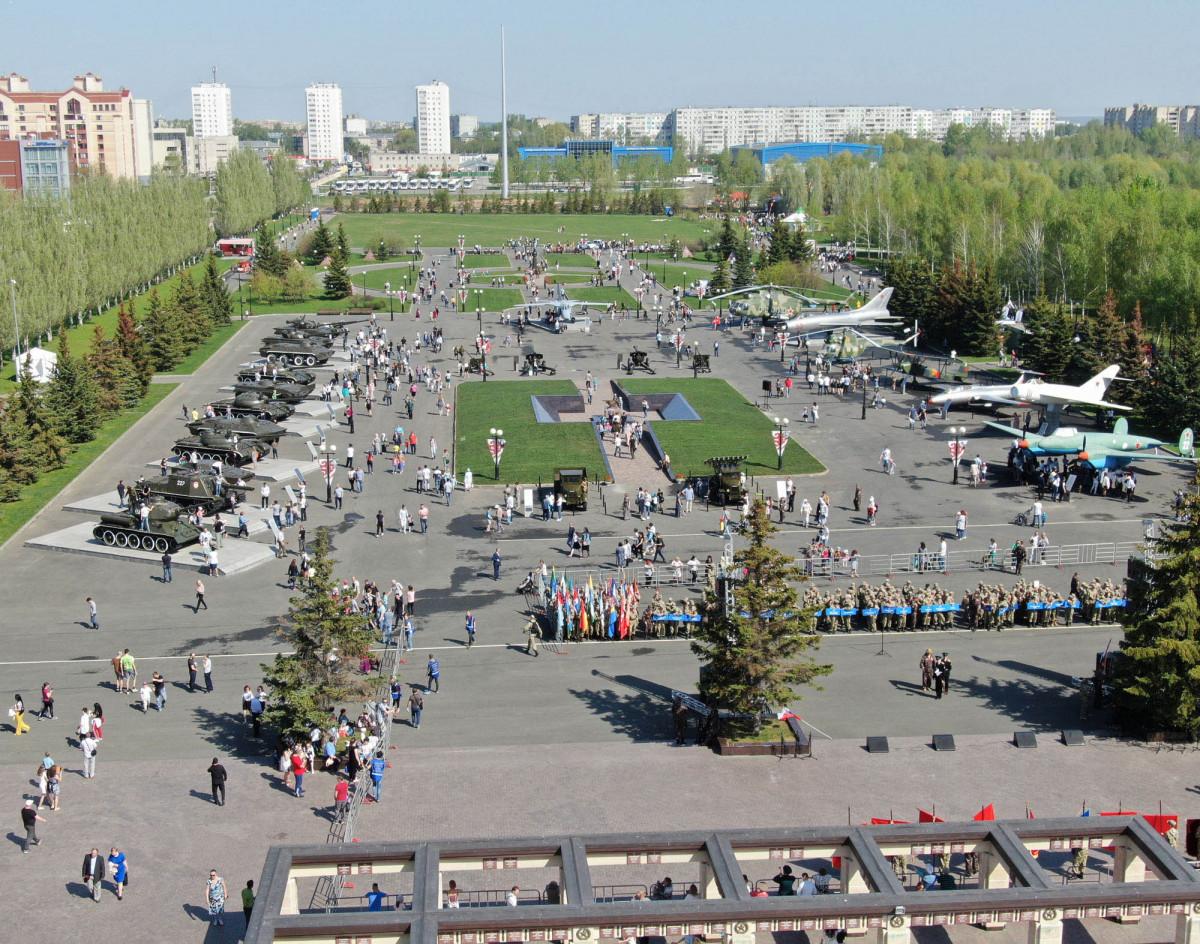 Фото: Мемориальный парк Победы