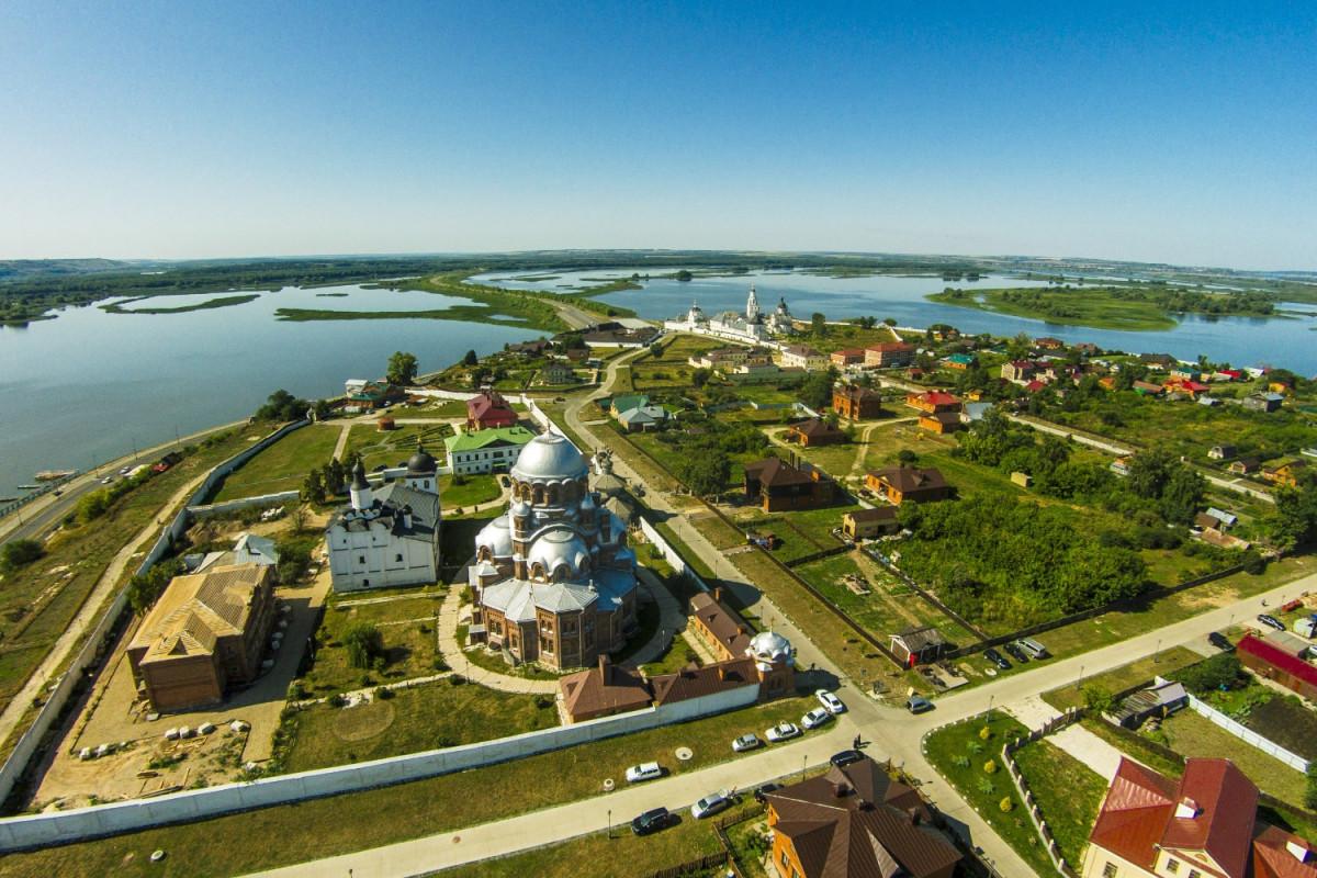 Фото: Остров-град Свияжск