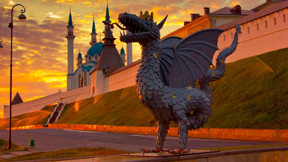 Фото: Памятник дракону Зиланту