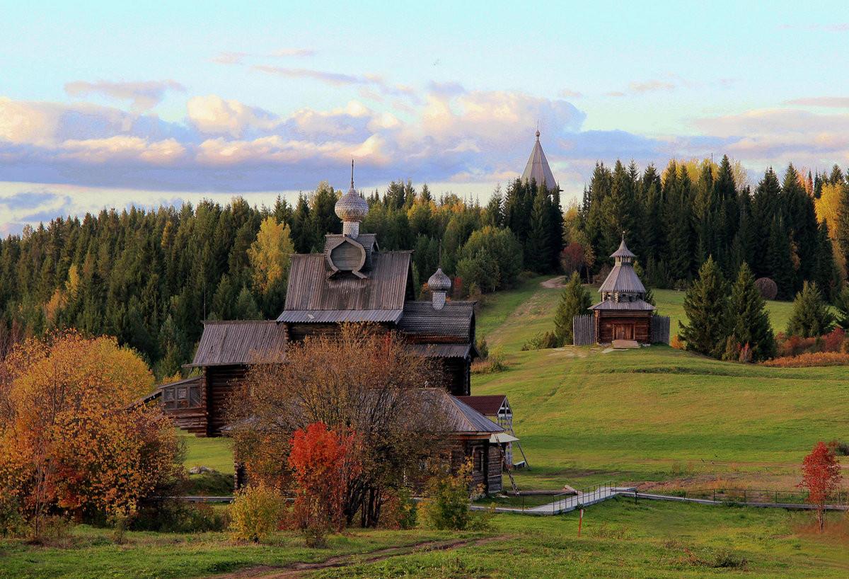 Фото: Архитектурно-этнографический музей Хохловка