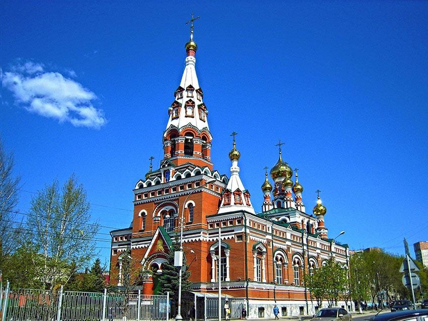 Фото: Вознесенско-Феодосиевская церковь