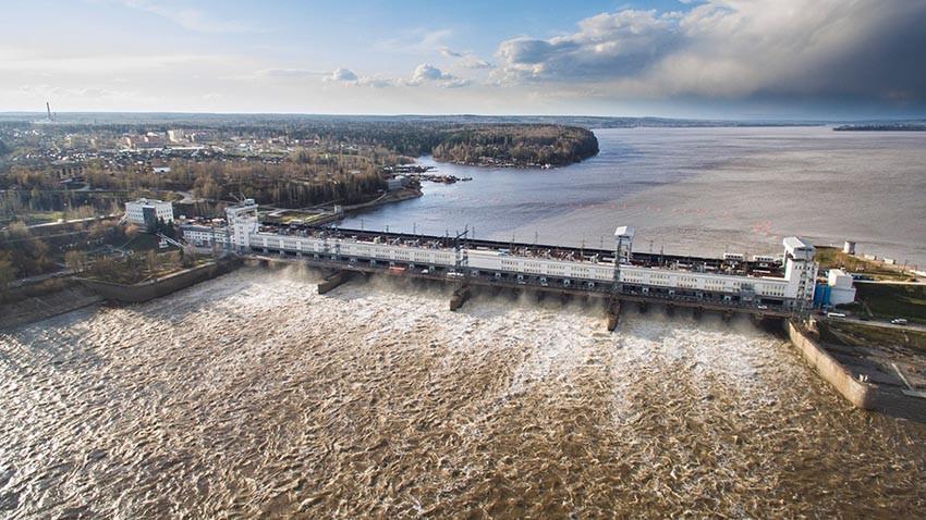 Фото: Камская ГЭС