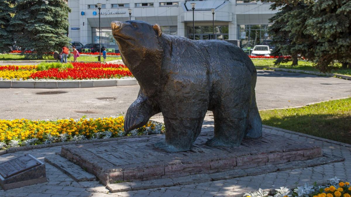 Фото: Легенда о пермском медведе
