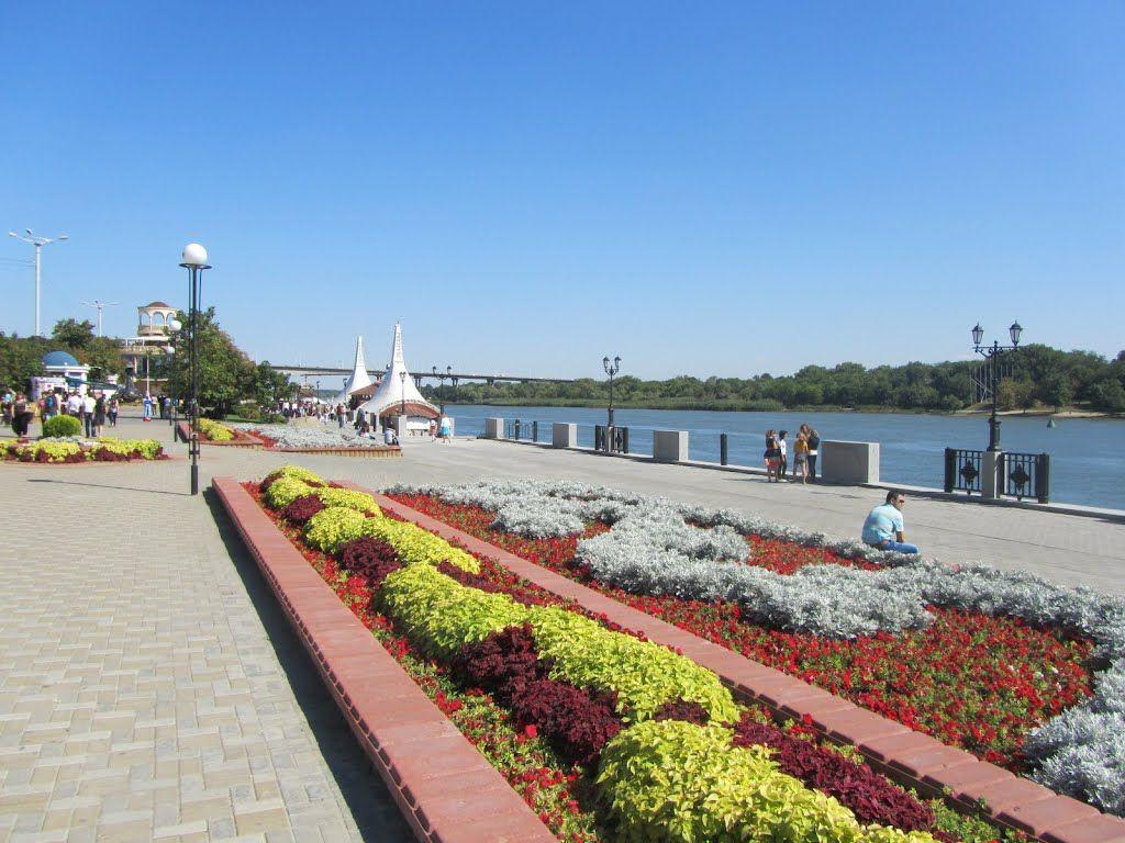 Фото: Набережная реки Дон