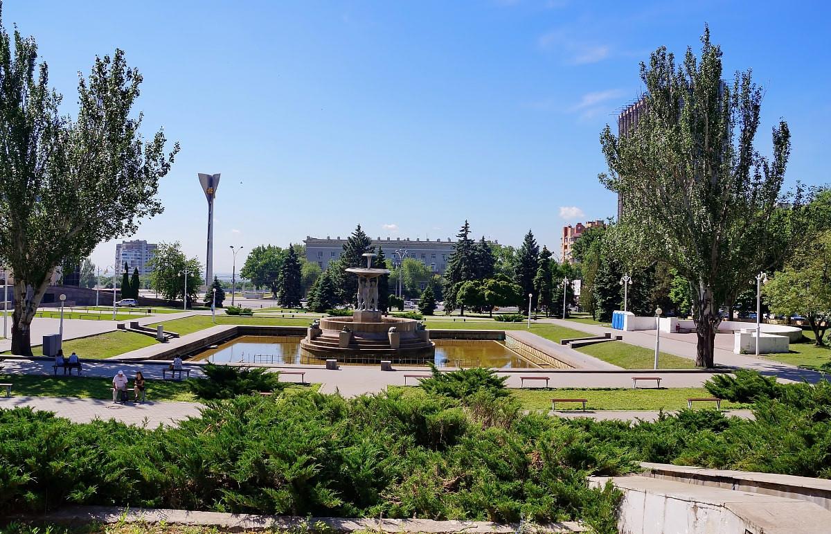 Фото: Фонтан на Театральной площади