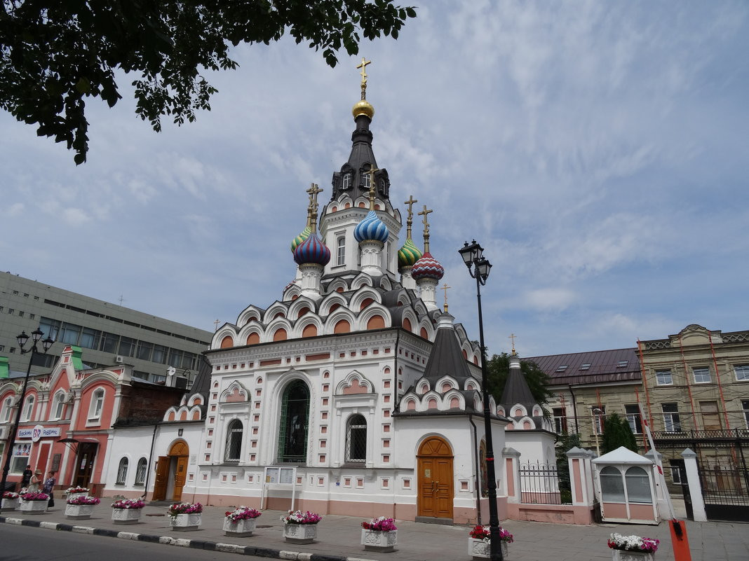 Фото: Церковь Утоли моя печали