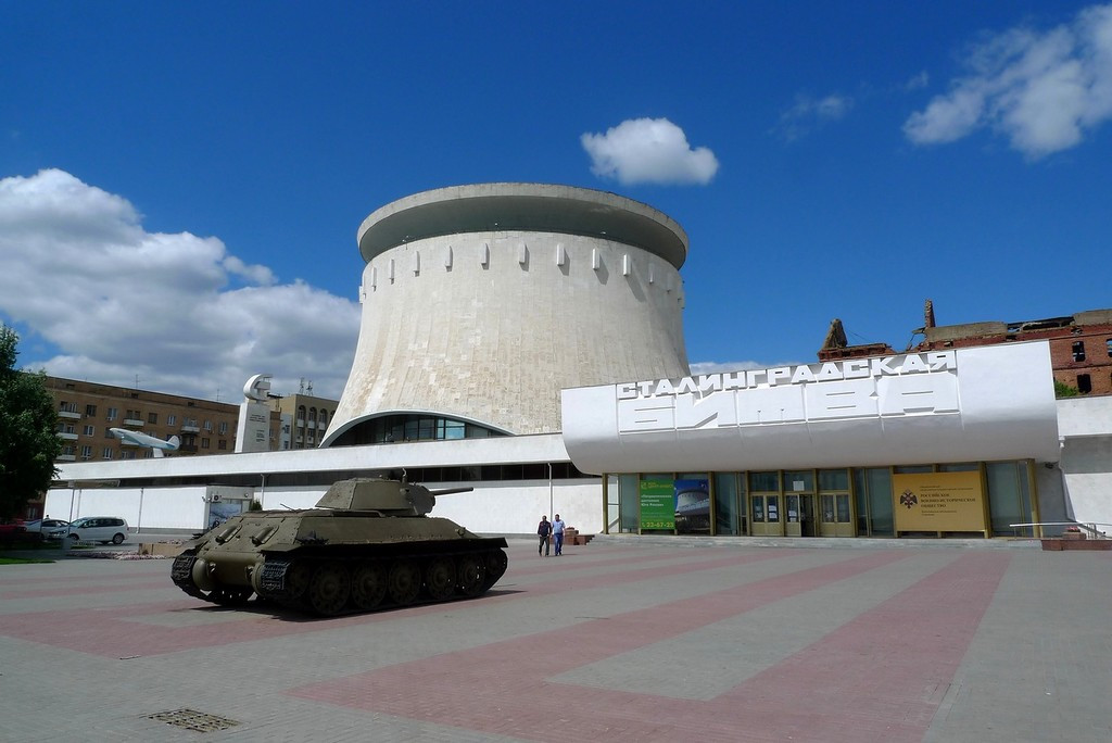 Фото: Музей-панорама Сталинградская битва