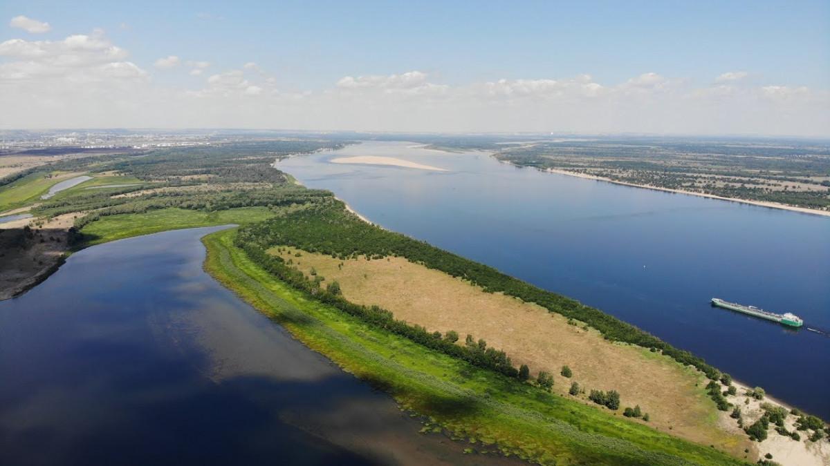 Фото: Река Волга