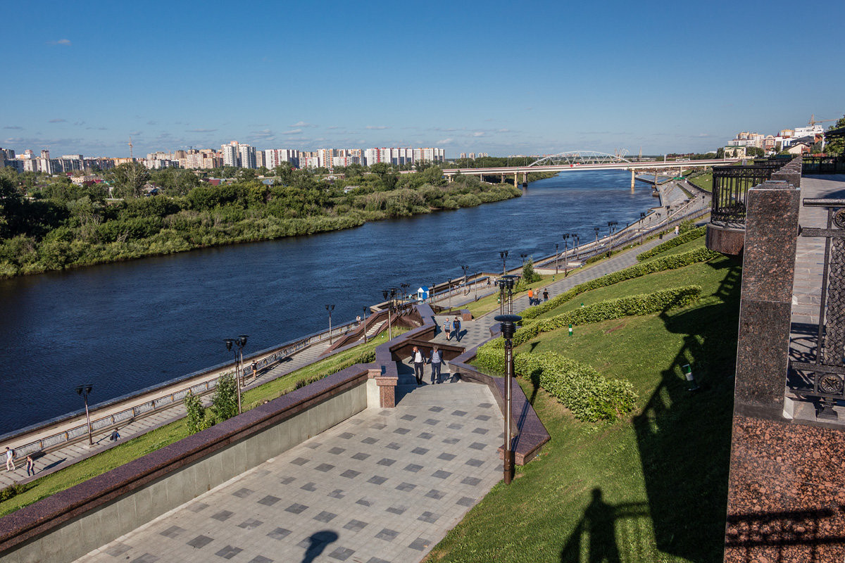 Фото: Набережная реки Туры