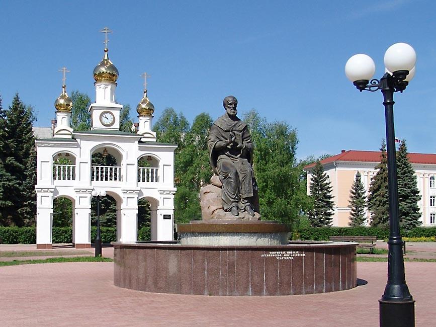 Фото: Архитектурный комплекс Созидателям города