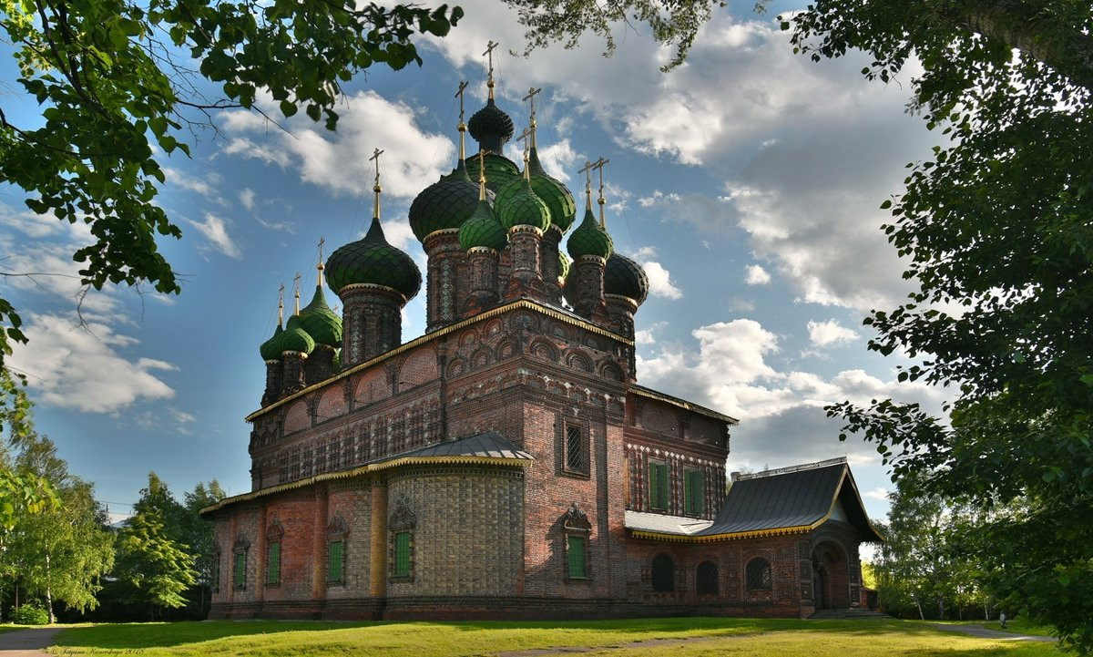 Фото: Церковь Иоанна Предтечи в Толчкове