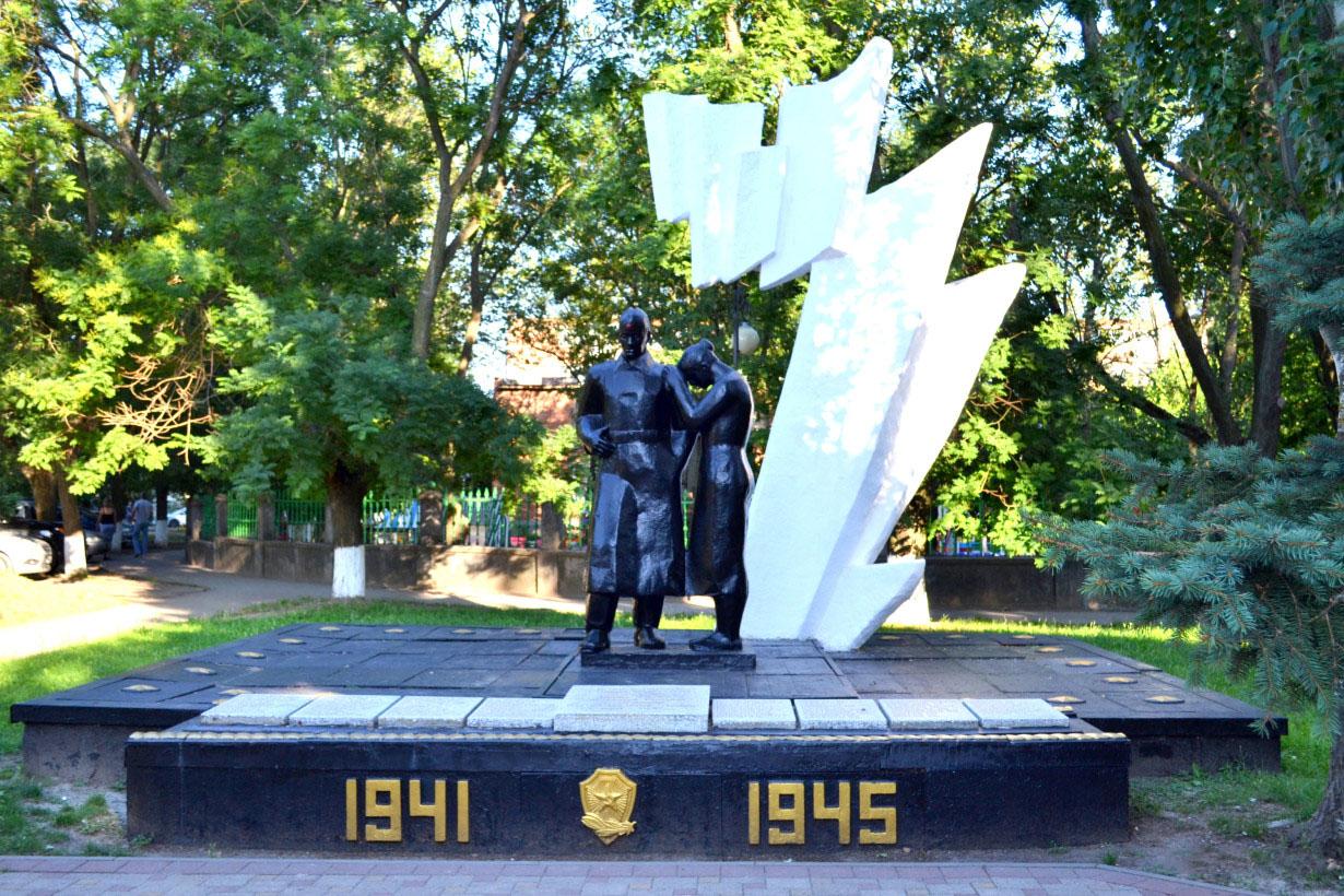 Фото: Мемориал павшим в Великой Отечественной войне