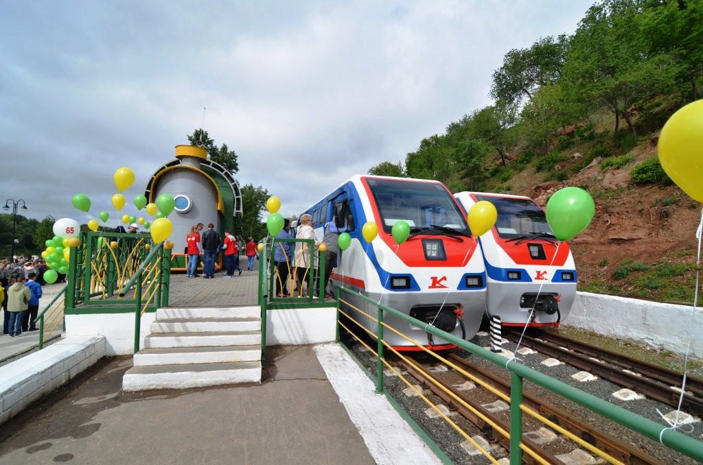 Фото: Детская железная дорога