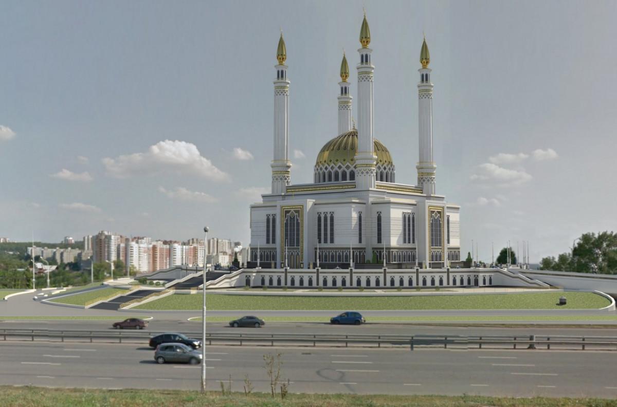 Фото: Соборная мечеть «Ар-Рахим»